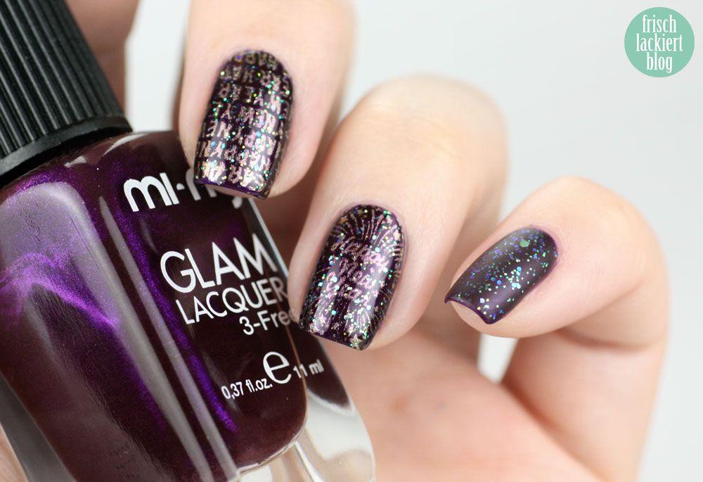silvester nails - new year nailart | Nails | Pinterest