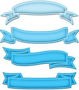 Spellbinders Shapeabilities Dies - Ribbon Banners: dies & accessories: die cut machines & accessories: scrapbooking: Shop | Joann.com