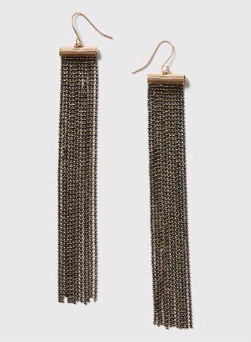 Multi Chain Drop Earrings from Dorothy Perkins £8,50