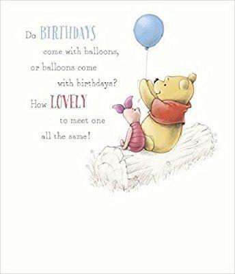 Winnie The Pooh Birthday Card Friend Birthday Quotes Happy Birthday Quotes For Friends Winnie The Pooh Birthday