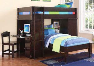 Best Lars Wenge Loft Bed Kids Loft Beds Twin Loft Bed Bed 400 x 300