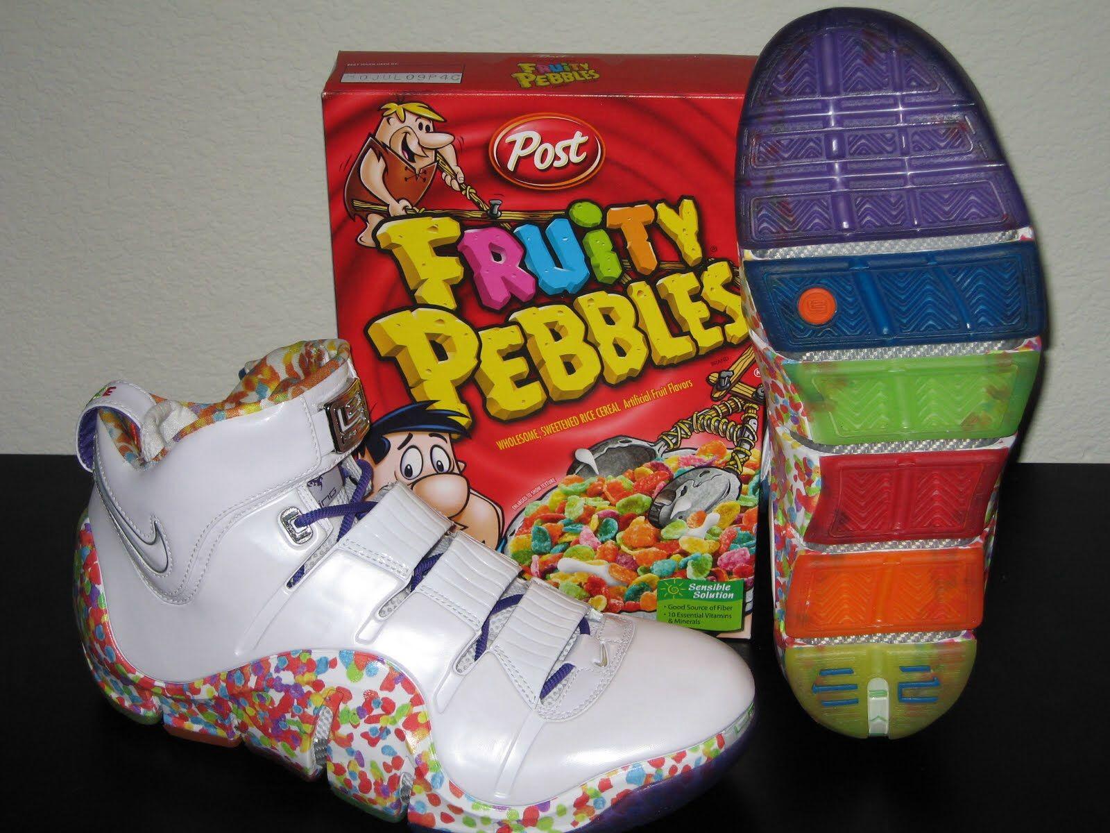 a4da9c65eb11 Lebron 4 fruity pebbles