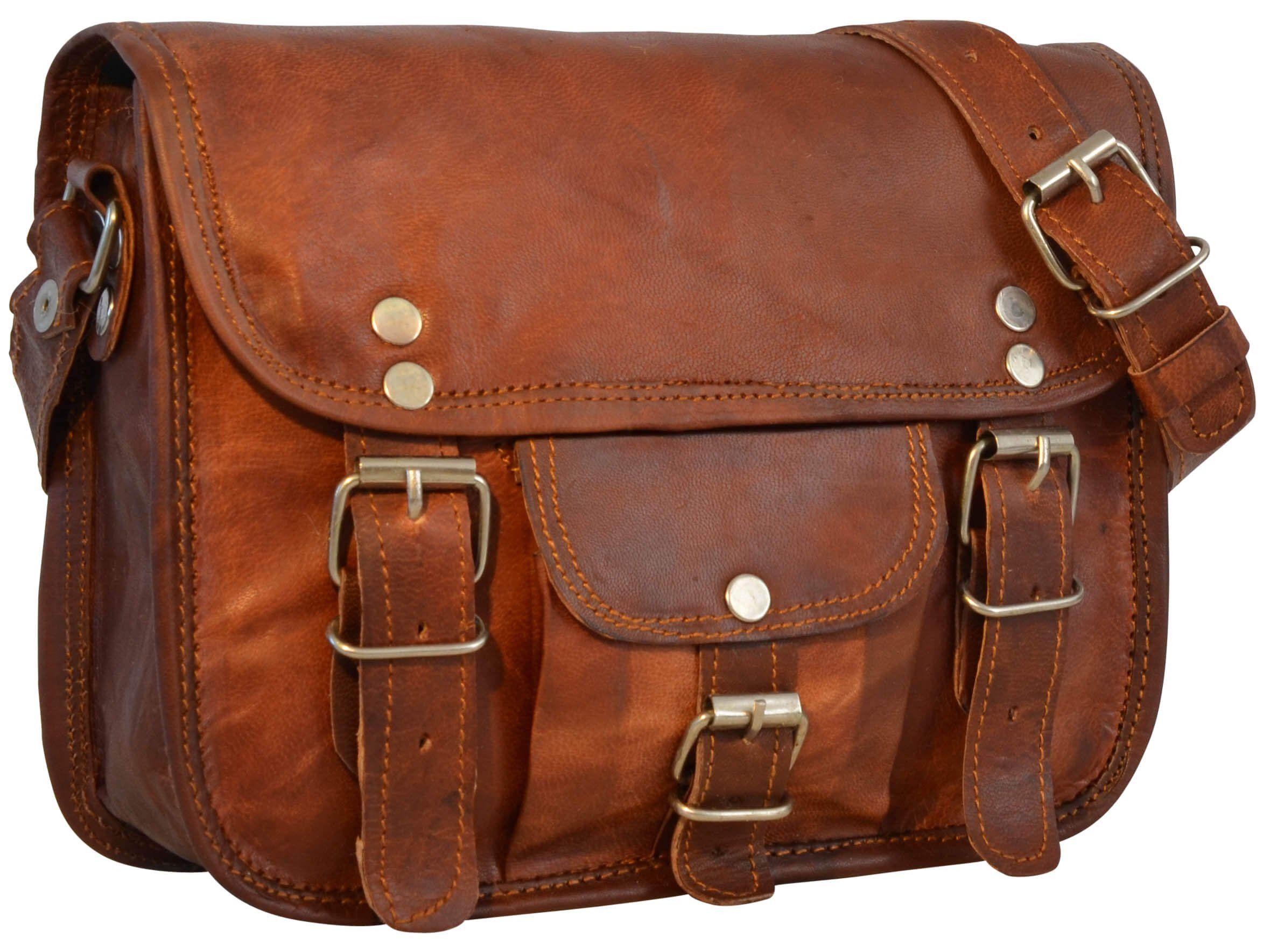 Sacoche en cuir pour sac bandoulière Travail Besace en cuir Sac de voyage unisexe noir baTuFJg