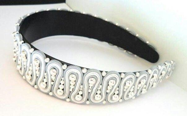 soutache headband