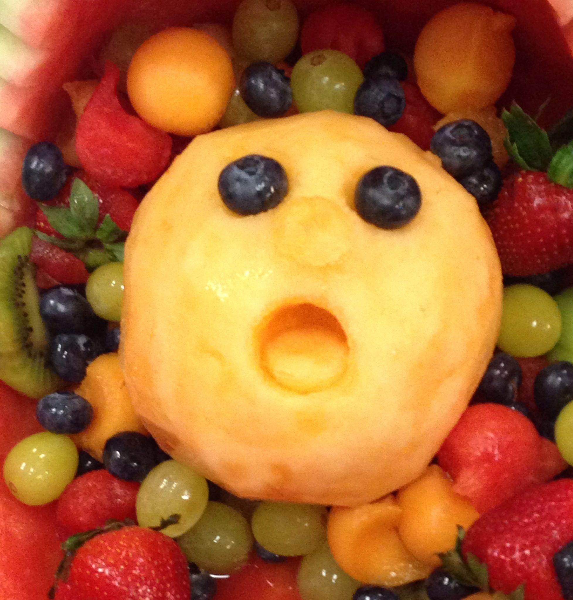 Crying Cantaloupe Baby