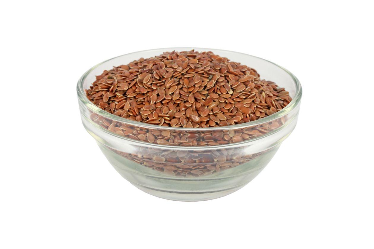 Semillas de lino y sesamo para adelgazar