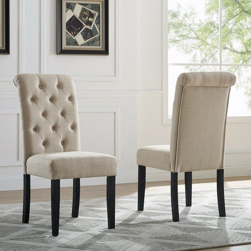 04b4e01da5bf3ada60d50b970db2b7f7 - Better Homes And Gardens Parsons Tufted Dining Chair Beige