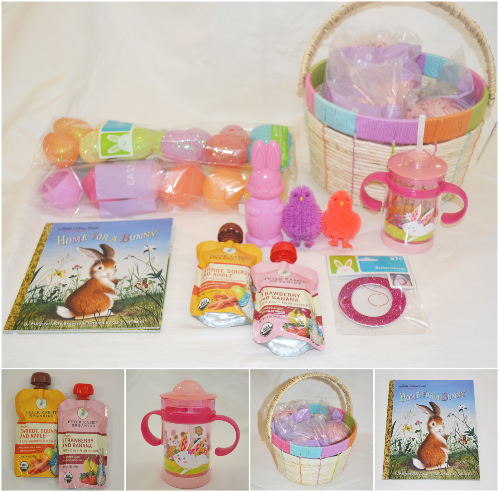 Easter basket for baby girl first easter basket ideas for baby girl dette cakes blog negle Image collections