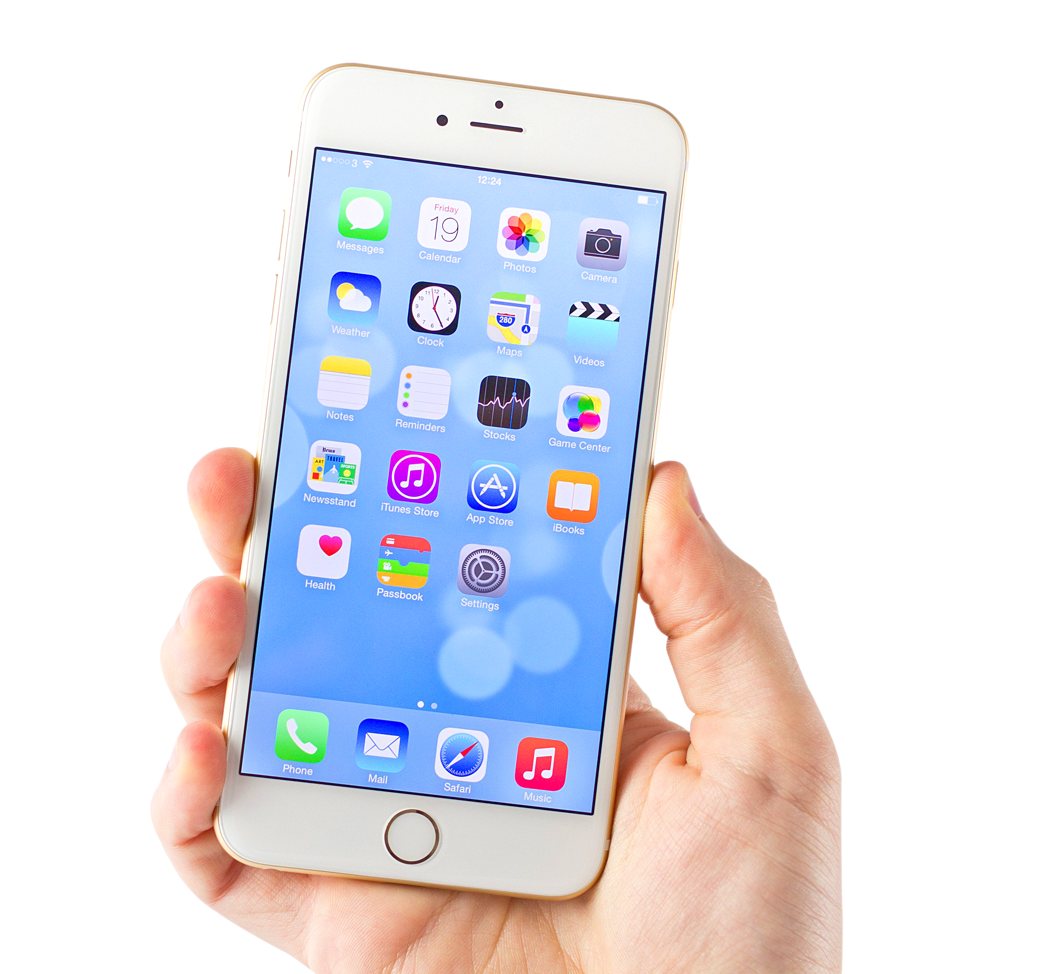 White Iphone 6 Png Image Iphone Application Iphone White Iphone