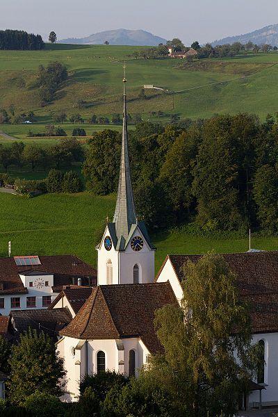 Kirche von Menzingen, Zug