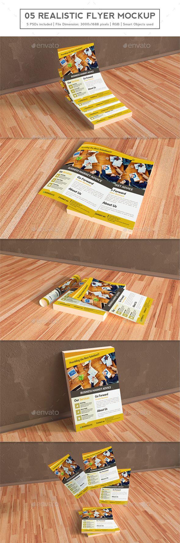 Print Mockup - Realistic Flyer Mockups - Print Mockup by hikaa.  #Graphic #TuesdayMotivation #WebElements #TuesdayThoughts #TuesdayWisdom #Logo #UserInterface  #UIUX #BlackFriday #CyberMonday #HappyTuesday #PresentationTemplate#TuesdayFeeling #DesignTemplate #Vectors