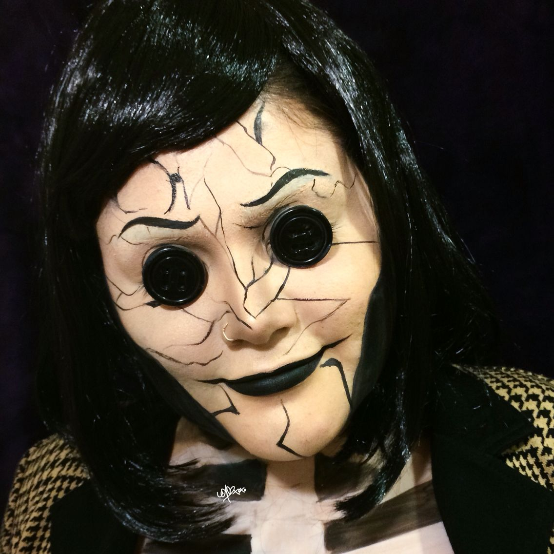 halloween makeup the other mother from coraline halloween