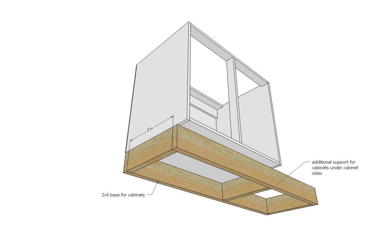 kitchen sink base cabinet tiny house kitchen diy projects build ...