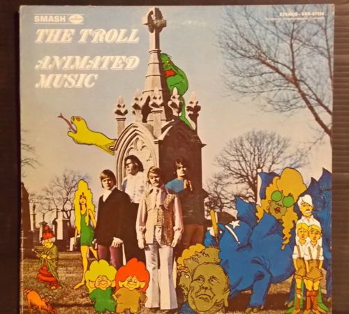 THE TROLL Animated Music GROUP GARAGE PSYCH MICHIGAN ROCK