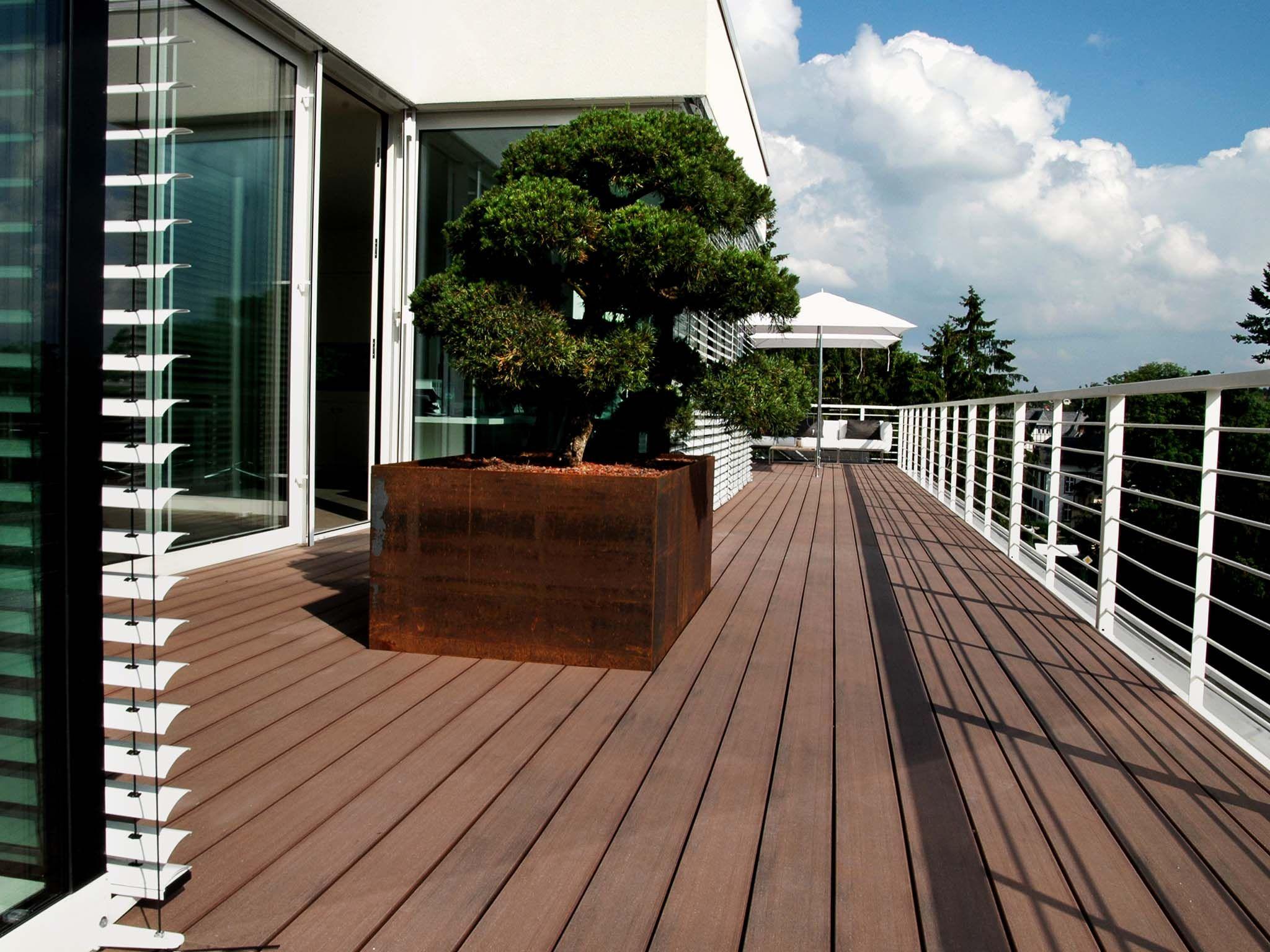 PURE macao | Design dachterrasse, Wpc terrassendielen und ...