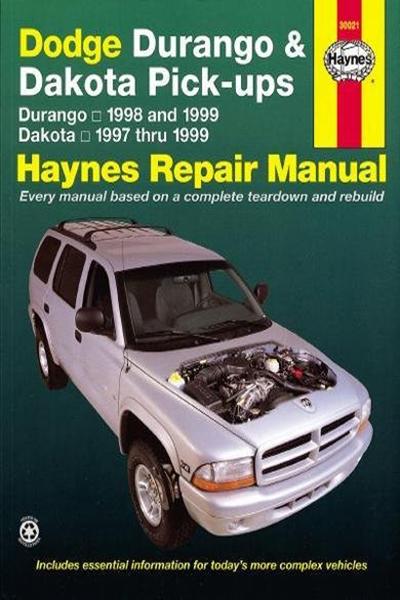 Dodge Durango 98 99 Dakota 97 99 Haynes Repair Manual Haynes Manuals By John Haynes Haynes Manuals N America Inc Dodge Durango Dodge Dakota Dodge