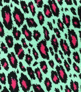 Ultra Cuddle Fabric- Green & Pink Cheetah : ultra cuddle fabric: fleece fabric: fabric: Shop | Joann.com