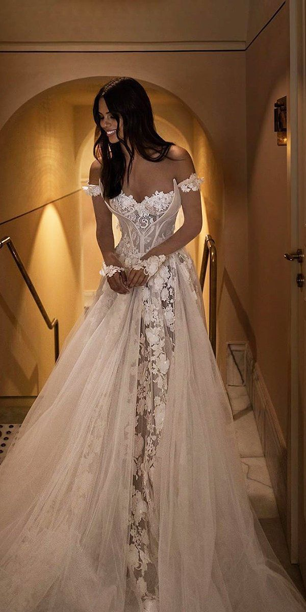 Photo of 42 Off The Shoulder Wedding Dresses To See | Wedding Forward