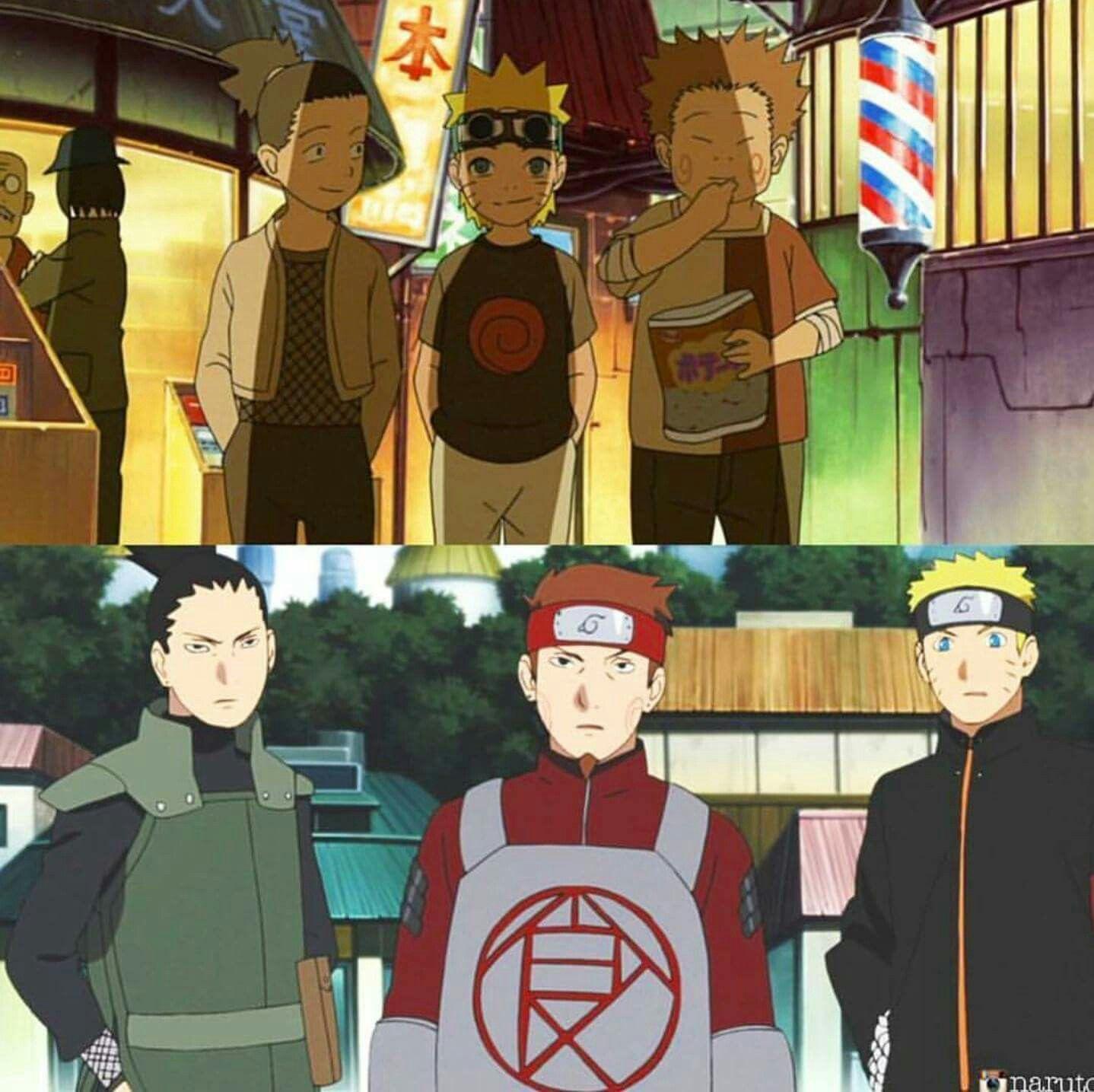 Shikamaru Choji Naruto Thats My Ninja Way Naruto Naruto