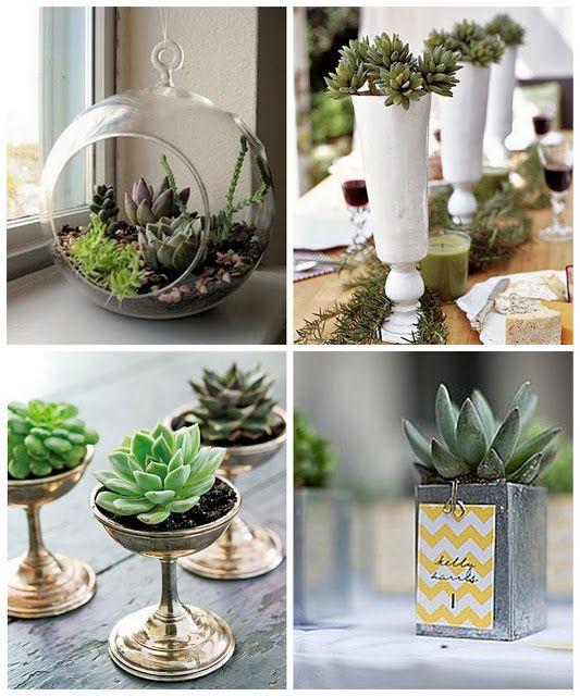 Faux Succulent Arrangement Plant Mini Green Plants Home Decor Artificial Flower Plastic Flower