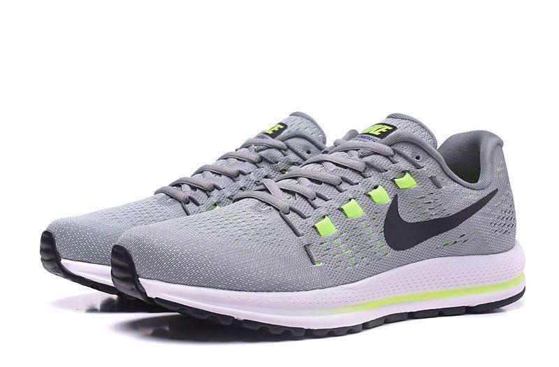 new arrival 94820 a208e Chaussures de sport Nike Air Zoom Vomero 12 Wolf Grey Cool Grey Pure  Platinum Black 863762-002