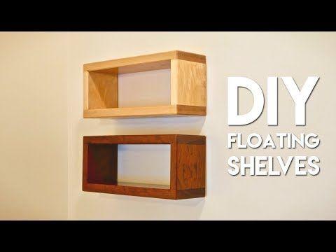 Youtube Woodworking Floating Shelves Diy Floating Shelves Diy