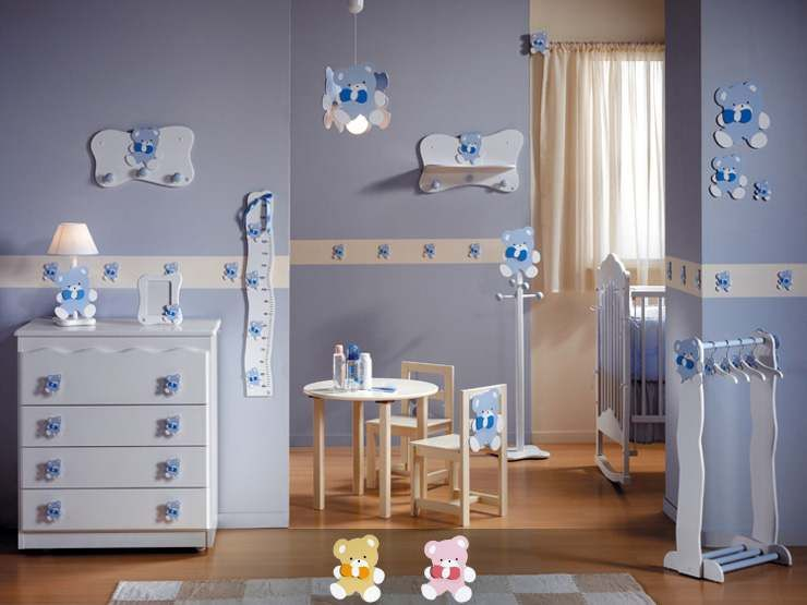 Decoracion cuartos para bebes google search bebes for Decoracion para cuarto de bebe varon