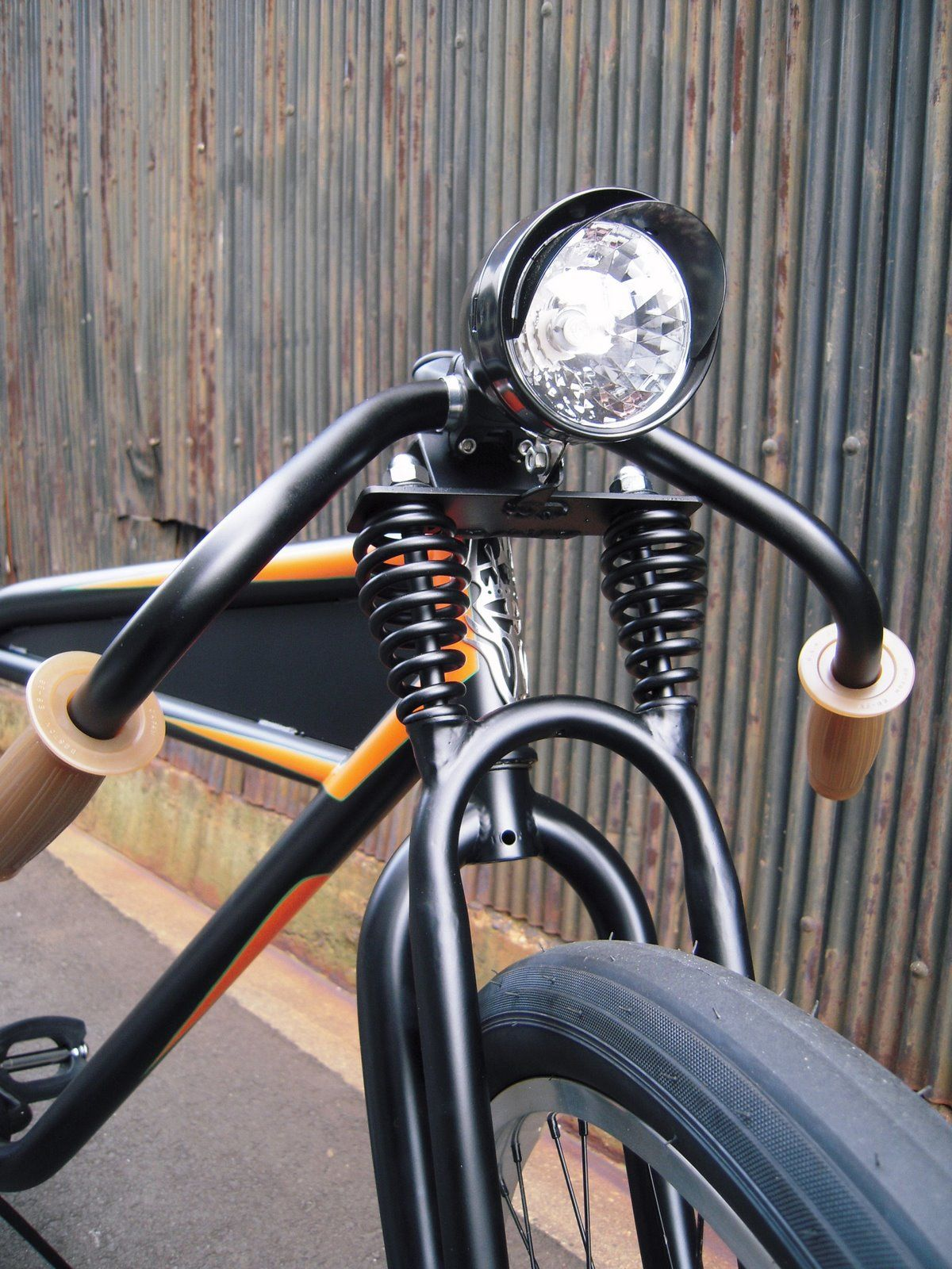 3a4f6da2a65 Nice front end on this custom   Cycles   Motorised bike, Chopper ...