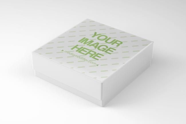 Download Time To Make Gifts And Share Presents Generate Your Own Branded Gift Box Design Online An Angled Side View Of A Squar Realistic Gift Gift Box Design Gift Box