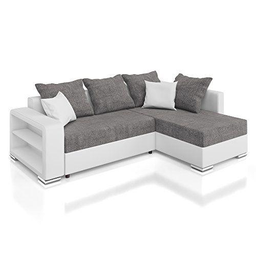 vicco sofa couch polsterecke houston ecksofa schlaffunktion schlafsofa - Sofacouch Mit Schlafcouch
