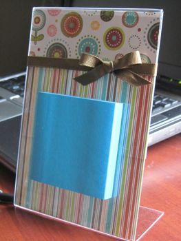 Homemade Holiday: Post-It Note Holder - Thrifty and Thriving