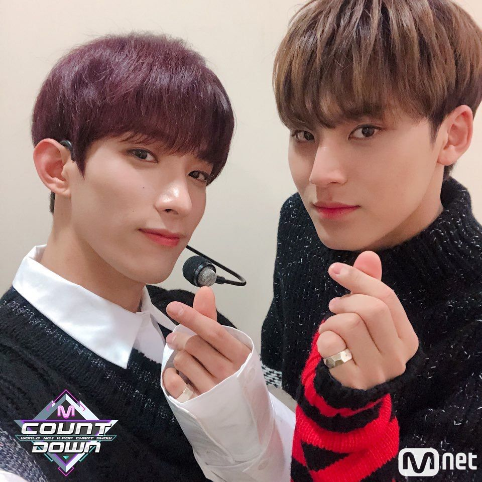 DK and #Mingyu ~ #Seventeen ~ #Home ~ #MCountdown | Seventeen ドギョム, ミンギュ,  みんぎゅ