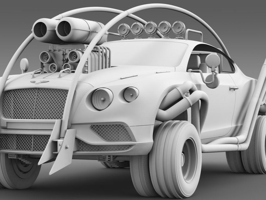 mad max style cars Google Search Bentley continental