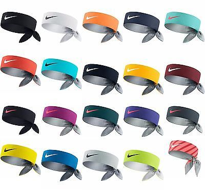 Brand New W Tags Nike Dri Fit Headbands Head Tie Bandana Nadal Federer Serena Nike Tie Headbands Nike Headbands Nike Dri Fit Headband
