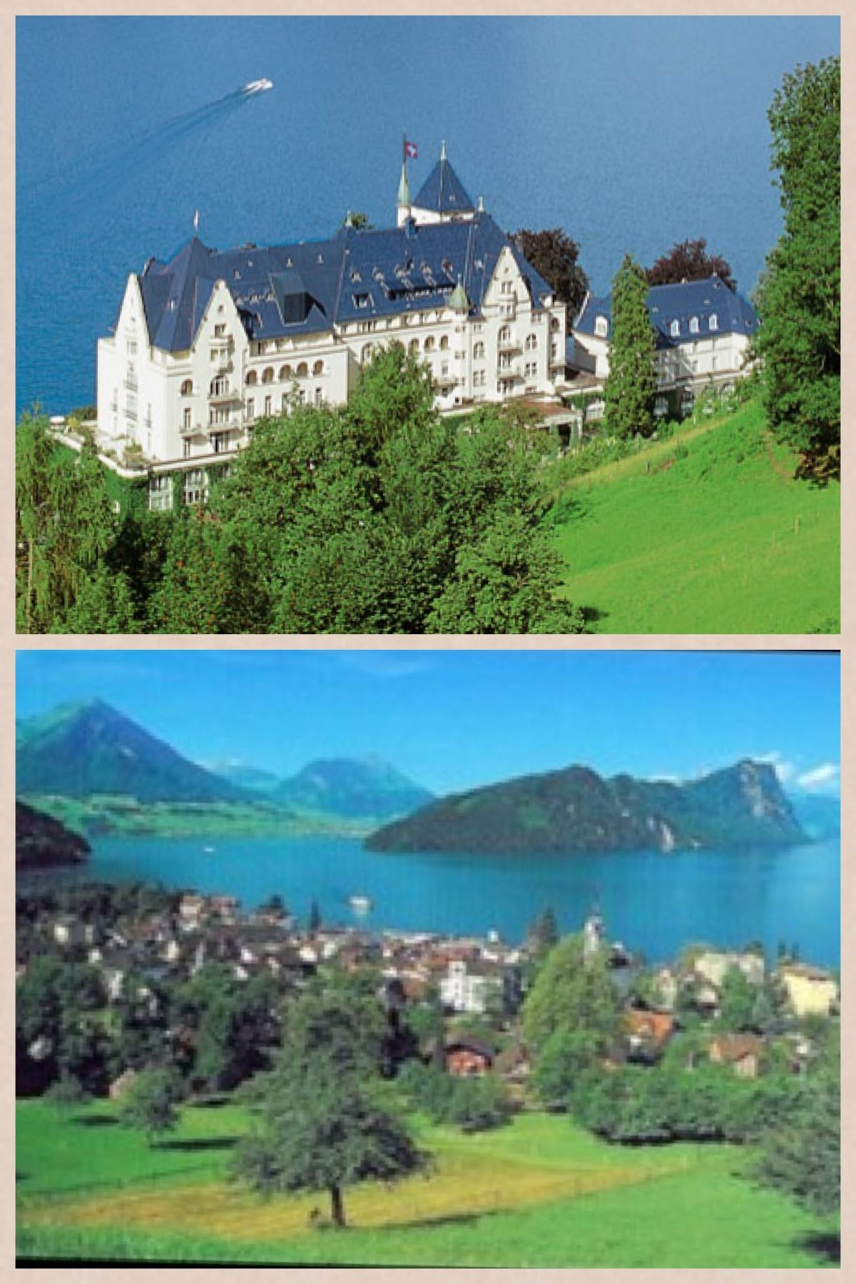 Park Hotel, Vitznau Lake Lucerne, Switzerland