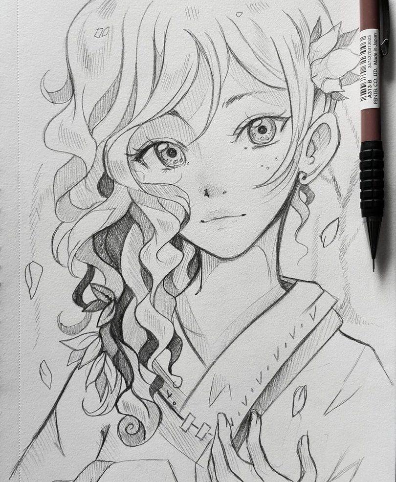 Anime 2019 Imdb: Crdito Na Imagem Beautiful In 2019 Anime Art Manga Art