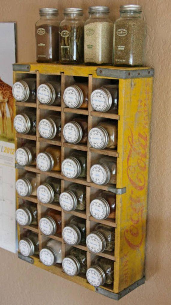 Coca Cola Yellow Vintage Crates