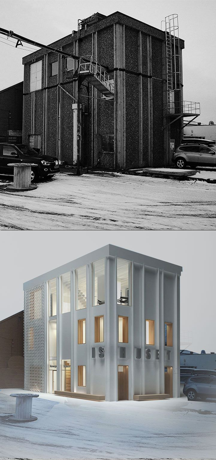 Ishuset Icehouse Project Housing Transformation Year 2013 Location Vadso Norway Valrygg Architecture Architecture Outdoor Decor Facade