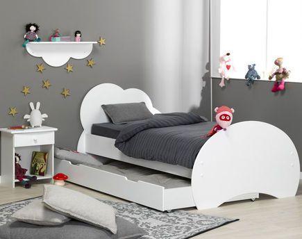 Nuage 4 Piece Children S Furniture Set White Kid Beds Kids Bedroom Furniture Sets Kids Bedroom Decor
