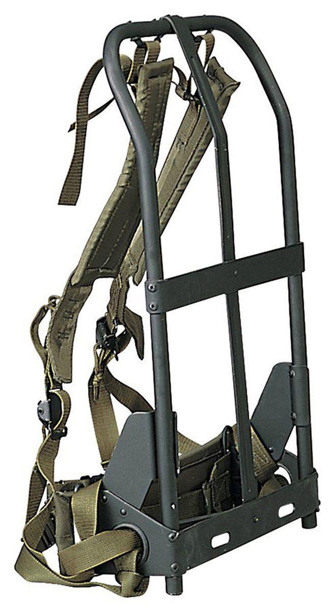 A L I C E Backpack Frame Shoulder Straps Lower Back Pad And Waistbelt Review More Details Here Backpa External Frame Backpack Survival Hiking Backpack