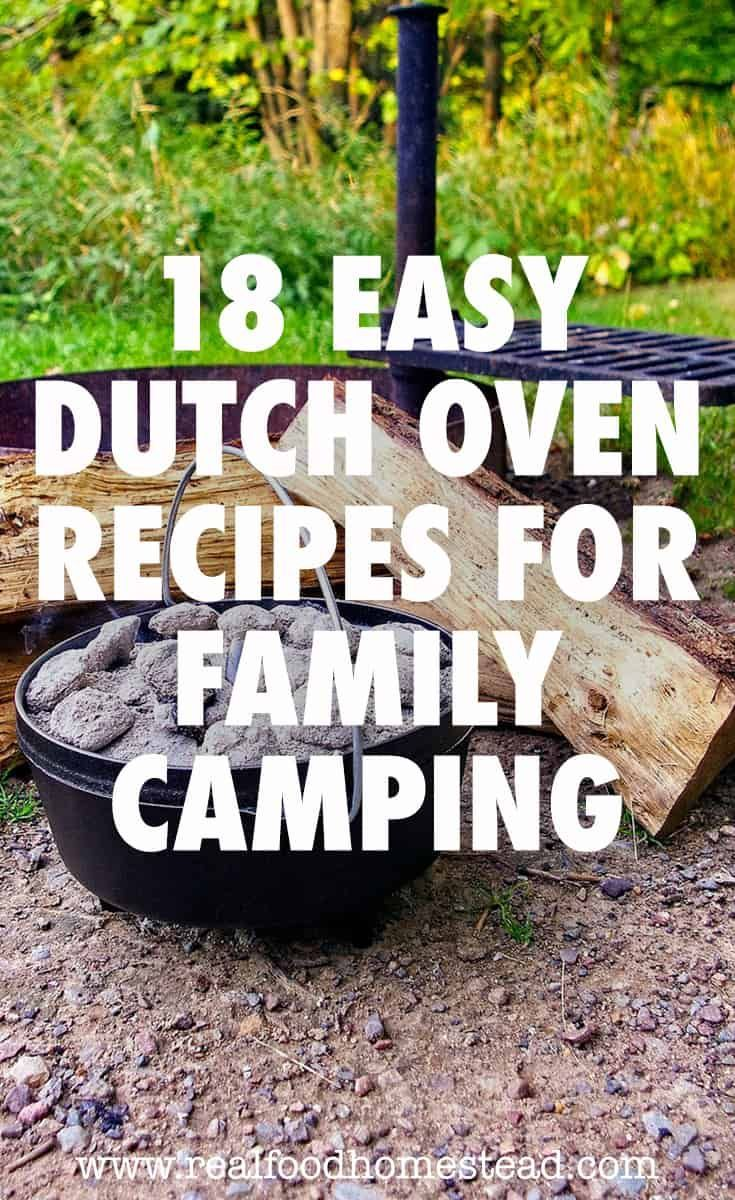 Does your family love to camp and eat awesome food? Click here to see 18 easy…