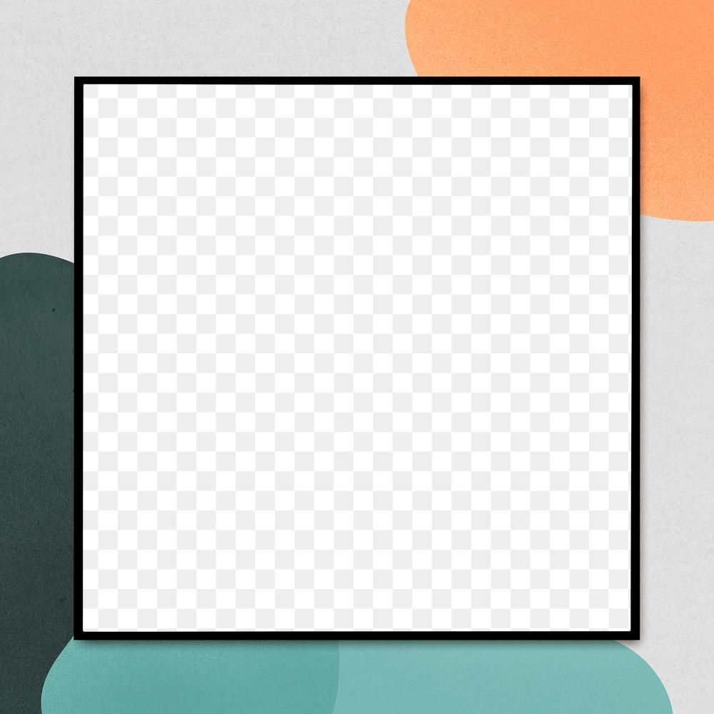 Black Square Frame Png Abstract Retro Design Free Image By Rawpixel Com Karn Square Frames Retro Design Abstract