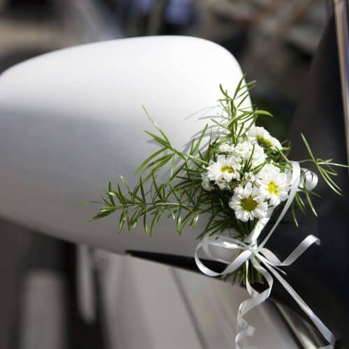 über 100 Ideen Um Das Hochzeitsauto Zu Schmücken