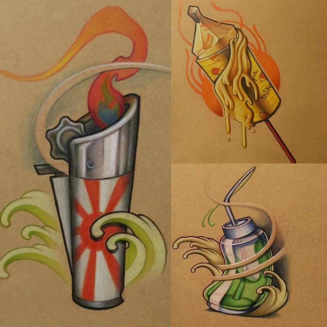 Pin by arman art tattoo shop on new school pinterest for American graffiti tattoo
