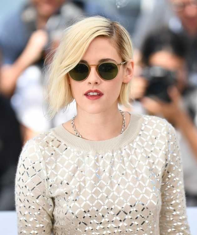 Kristen Stewart war mit ihrem Bleach Bob in Cannes ein beliebtes Paparazzi-Sujet.