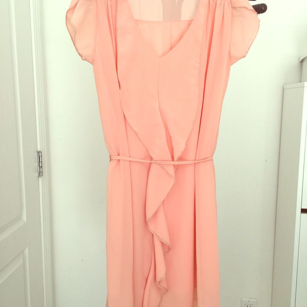 Coral pink ruffle dress pink ruffle dress ruffle dress and products