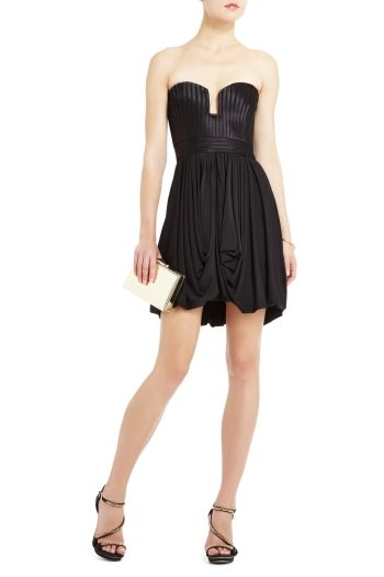 48d50f45c5f8 Electrify in the elegant and edgy Alene corset-style cocktail dress. $338.  Get the look here: bcbg.ma/Q8Dsr8