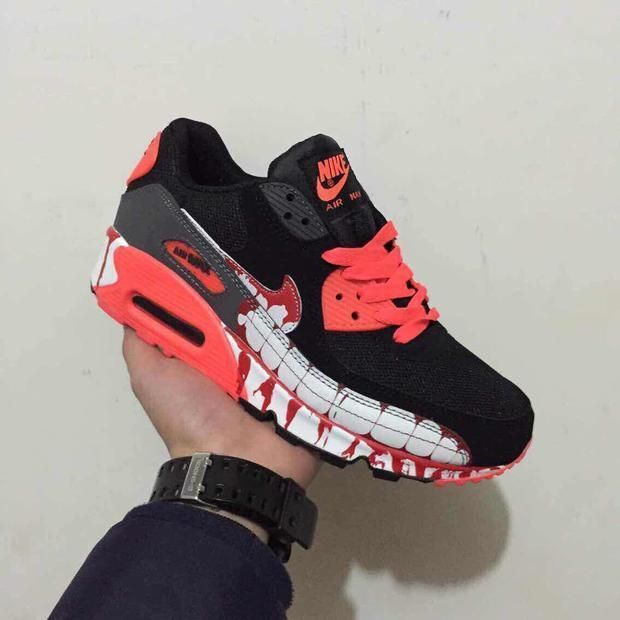 buy online 3b612 460d7 Nike Air Max 90 Vampire | Air Nike Shoes | Nike air max, Nike air ...
