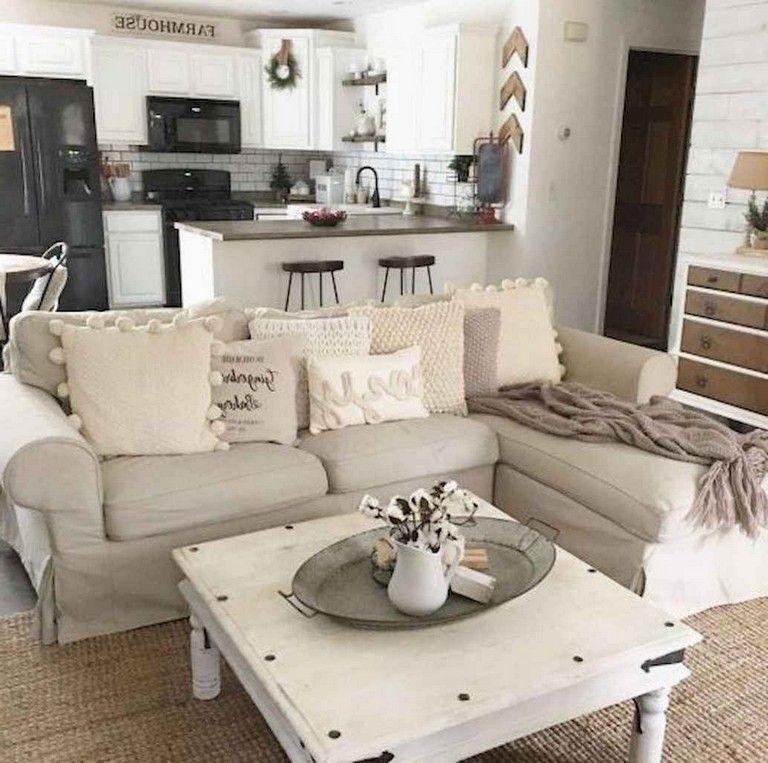 70 Cozy Shabby Chic Living Room Decor Ideas Livingroom Livingroomdecor Livingroomdec Apartment Decorating Rental First Apartment Decorating Chic Home Decor
