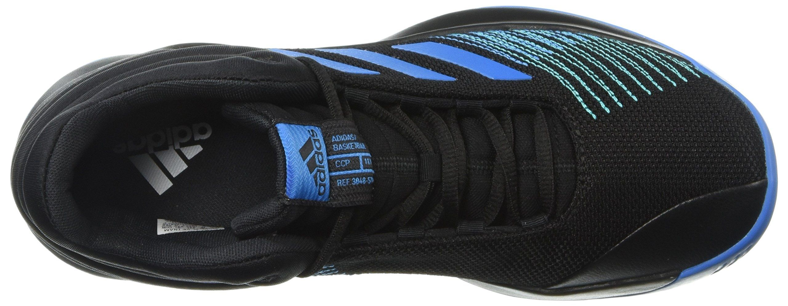 adidas Mens Pro Spark 2018 Basketball Shoe Bright Blue Black 10 M US      See this great product. (This is an affiliate link) de2b354e18b